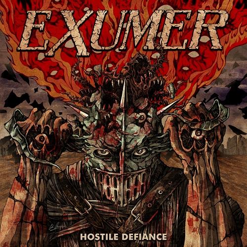 Hardcore & Metal Music: Exumer - Hostile Defiance (2019)