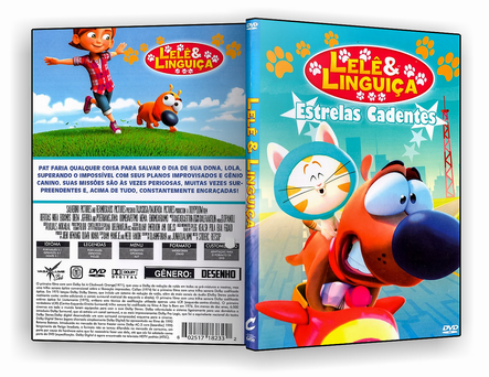 CAPA DVD – Lelê & Linguiça – Estrelas Cadentes – ISO