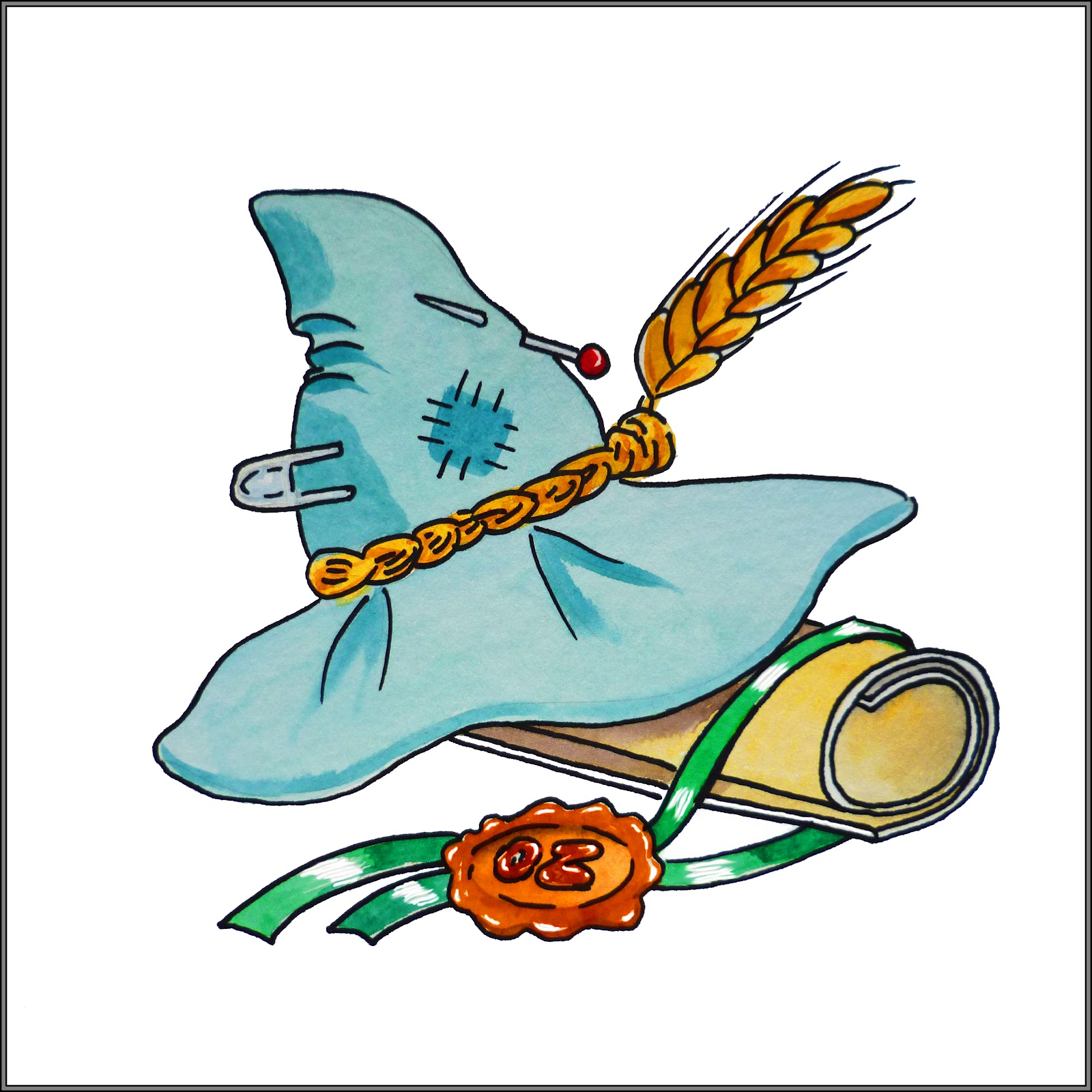 scarecrow hat clipart - photo #26
