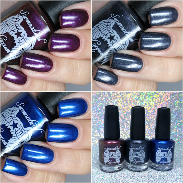Supernatural Lacquer - Coffin Gems Trio