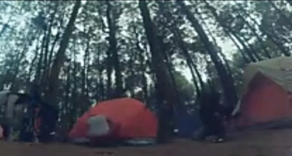 camping di puncak bintang bukit moko