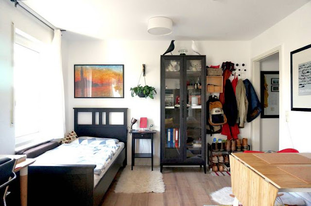 A good example of interior decor in a small space