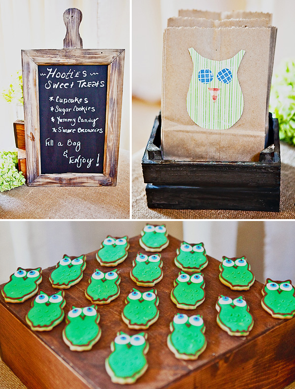 All Things Wedding: DIY Owl-Themed Baby Shower