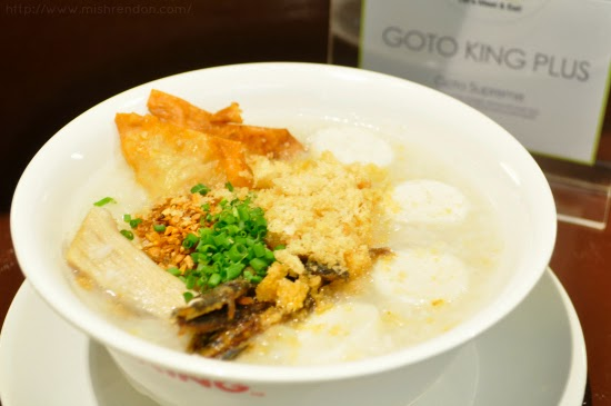 Goto Supreme from Goto King Plus SM Fairview Foodcourt