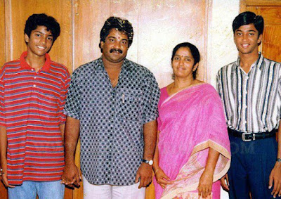 Aryan Rajesh family