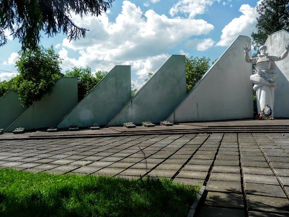 Дрогобич. Військовий меморіал