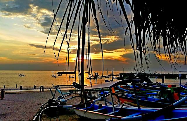 пляжи бали. джимбаран. закаты