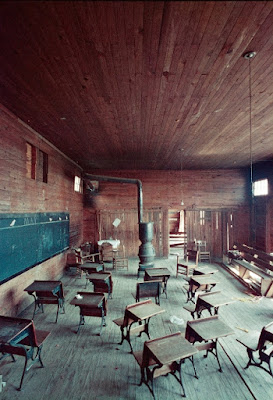 Black Classroom, Shady Grove, Alabama, 1956.
