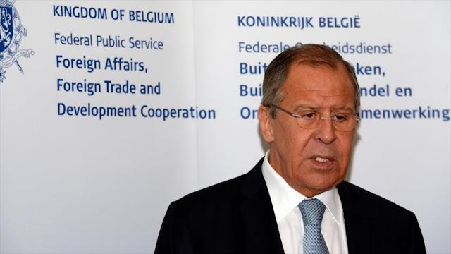 Lavrov: Están usando a Rusia para revertir elecciones de EEUU