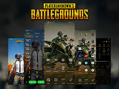 Huawei Themes: PUBG Mobile Theme for Emui 5 / 8