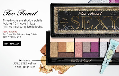 Too Faced The Return Of Sexy Eyeshadow Palette