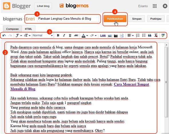Panduan Lengkap Cara Menulis di Blog