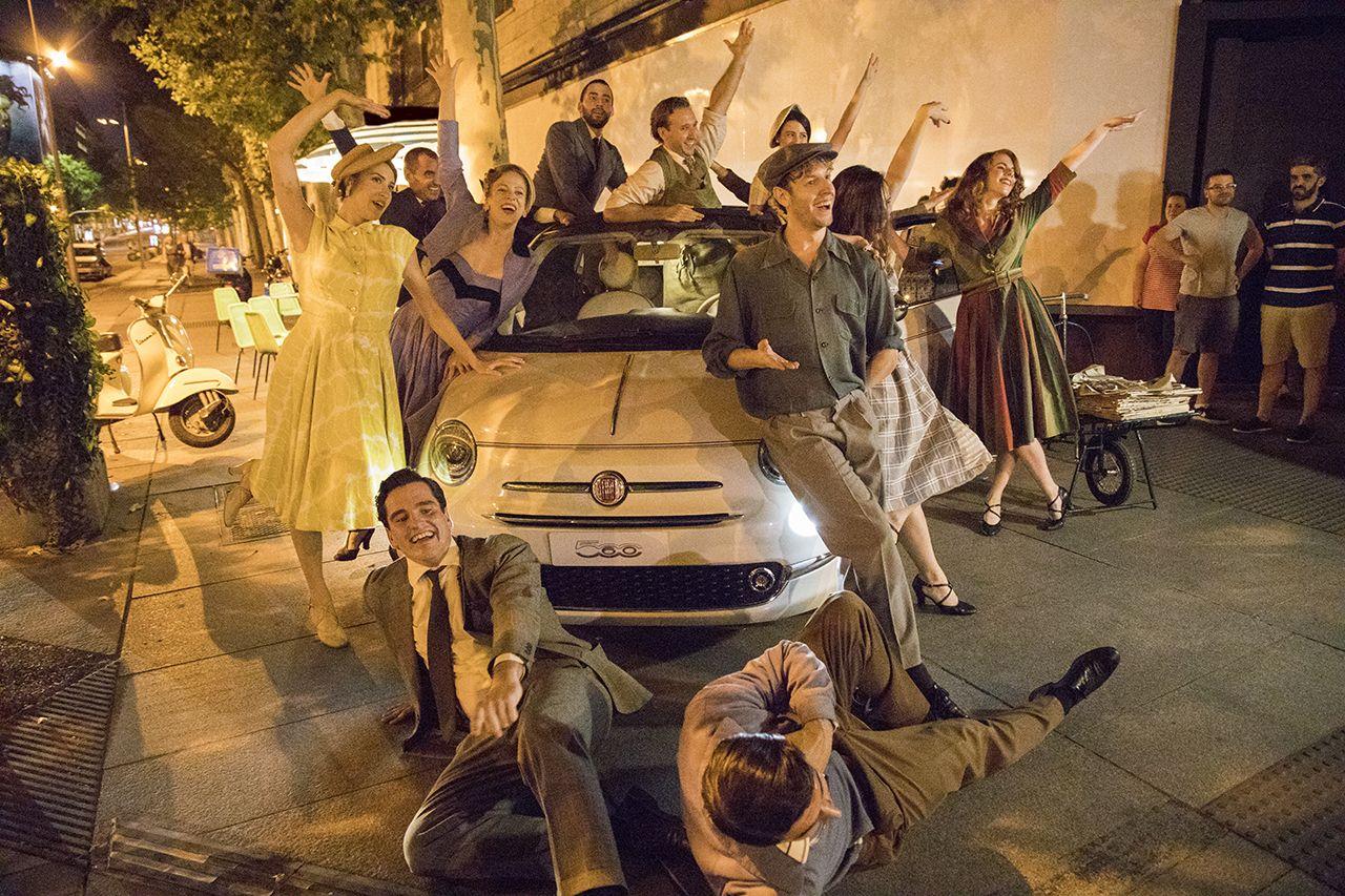 Μαδρίτη: Άλλος ένας προορισμός προστέθηκε στην περιοδεία της ειδικής έκδοσης Fiat 500-60th στις πλατείες της Ευρώπης