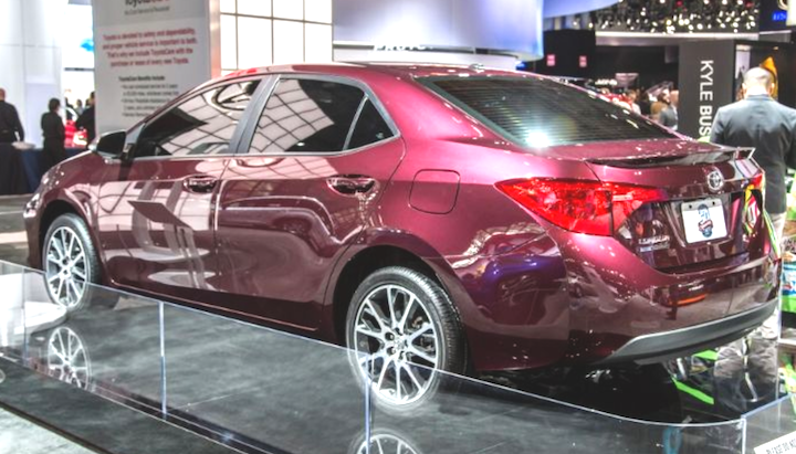2019 Toyota Corolla XSE Specs