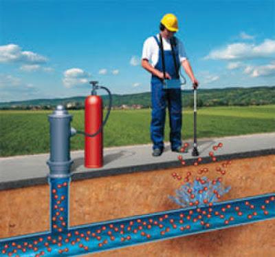 detección localización fugas geófono trazadora de gas bilbao