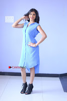 Telugu Actress Mounika UHD Stills in Blue Short Dress at Tik Tak Telugu Movie Audio Launch .COM 0110.JPG