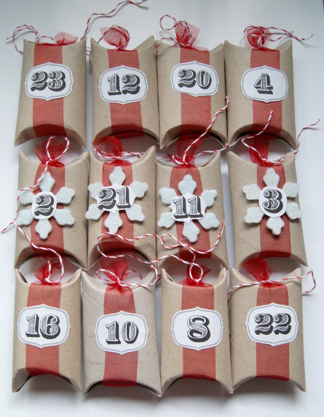 filz und garten gartenblog diy upcyling adventskalender aus klopapierrollen. Black Bedroom Furniture Sets. Home Design Ideas
