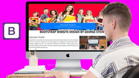 Complete Bootstrap course with responsive website design