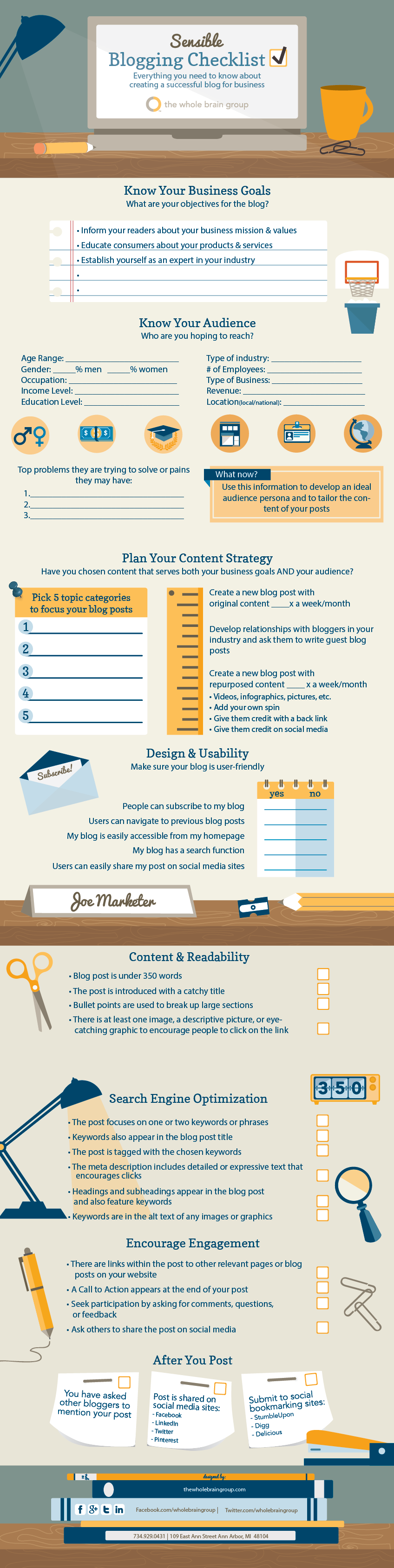 12 Most Common Mistakes Newbie Bloggers Commit + A Checklist For Building A Successful Blog #infographic
