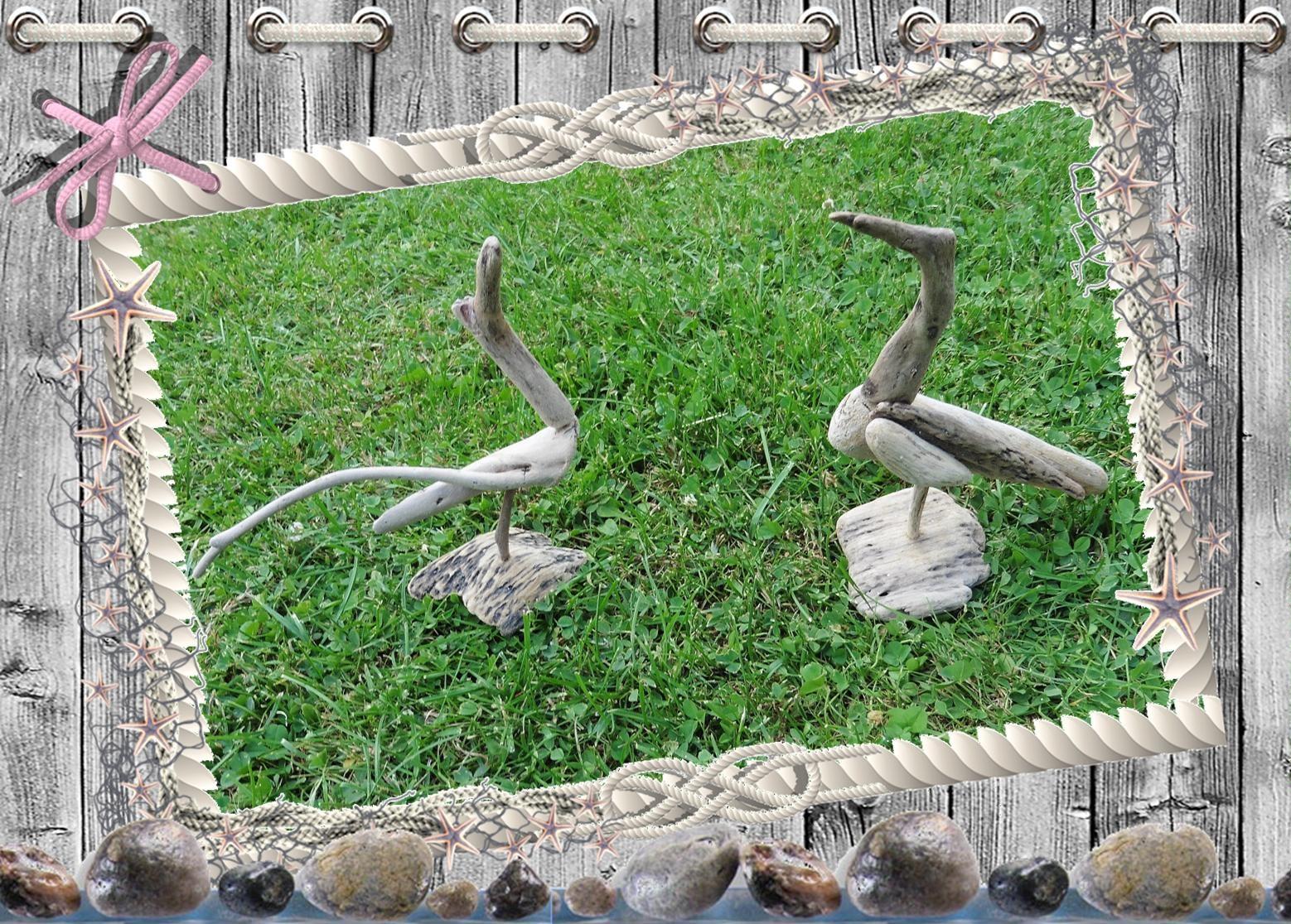 Les mains dans la t te les oiseaux en bois flott d 39 anne for Oiseau en bois flotte