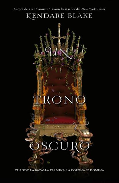 Resultado de imagen de un trono oscuro libro