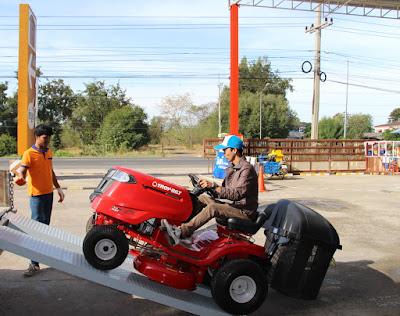 Troy Bilt Garden tractor delivery Thailand