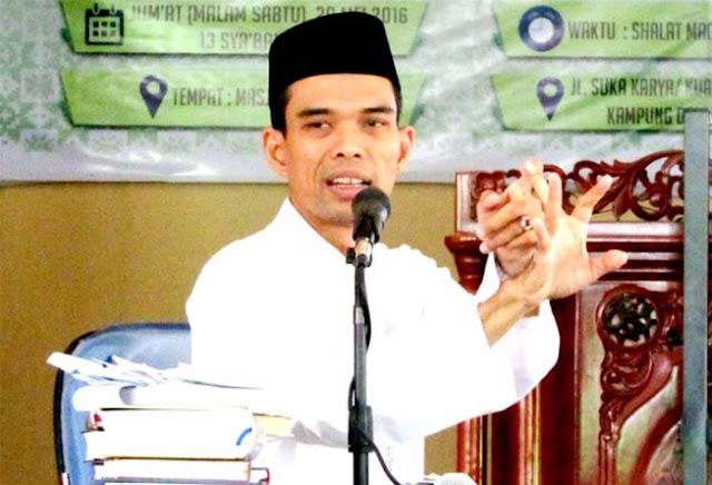 Alhamdulillah, Safari Dakwah UAS di Semarang Tetap Akan Berlangsung