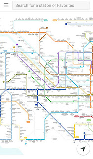 aplikasi yang membantu ketika kita naik metro di korea
