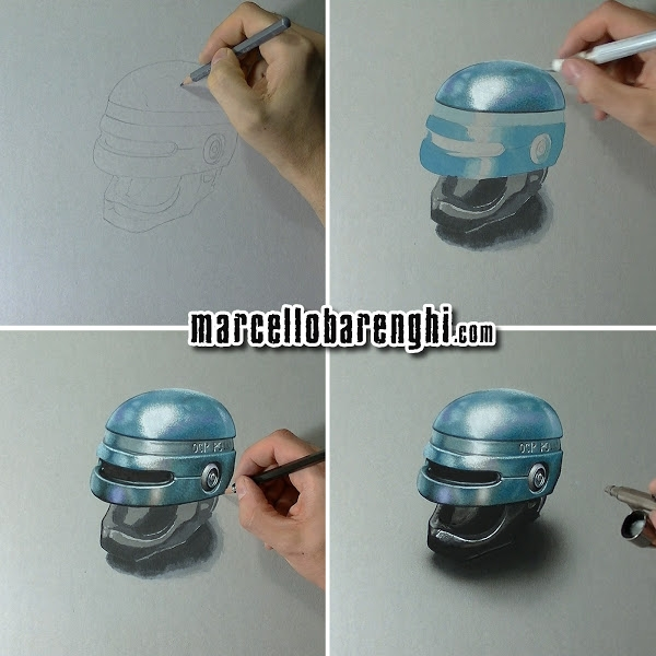 14-RoboCop-Marcello-Barenghi-Realistic-Movie-Character-Drawings-www-designstack-co