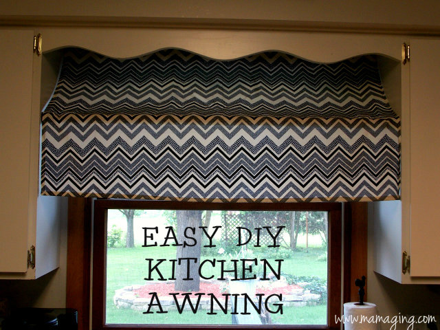 Greatest Mama Ging Easy Diy Awning Window Treatment Ub38