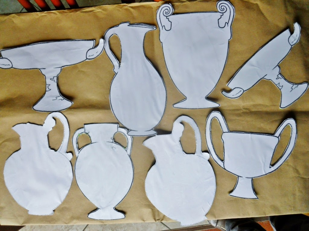 Lozainetto l 39 arte presso gli antichi greci i vasi for Vasi terracotta usati
