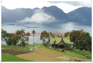 Lake Meninjau at Bukittinggi, Sumatra