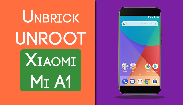 Mi A1 Stuck At Mi Logo