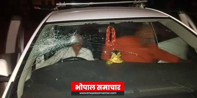 गुर्गों ने कांग्रेस विधायक को रोका, हमला किया और फरार हो गए | UJJAIN MP NEWS