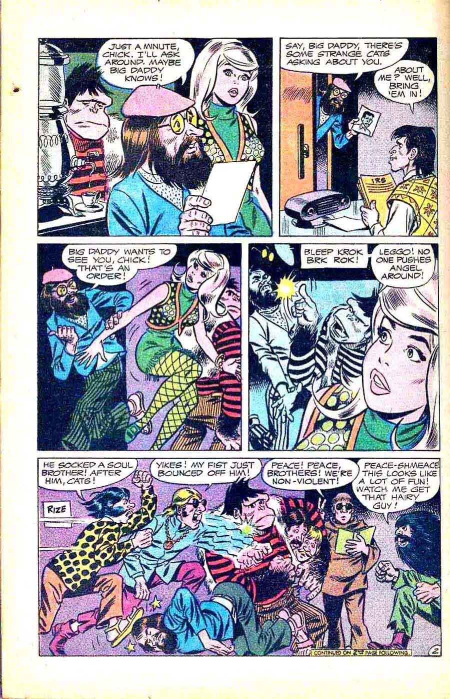 Angel  and the Ape v1 #5 - Wally Wood dc silver age 1960s comic book page art