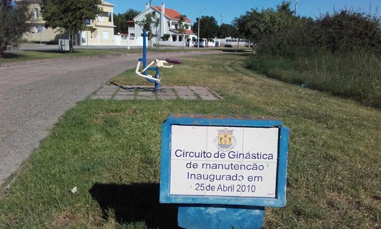 Circuito de Ginástica de manutenção do Samouco