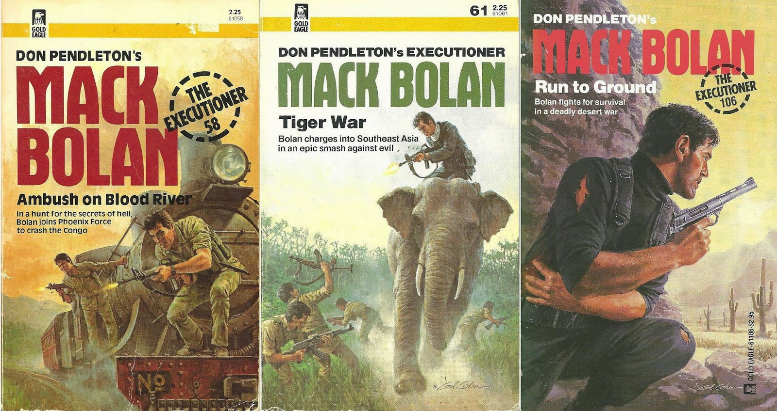 Three great Gil Cohen covers