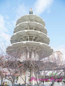 日本城五重塔