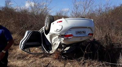 Estudante paraibano de 17 anos morre em acidente próximo a Brejinho-PE