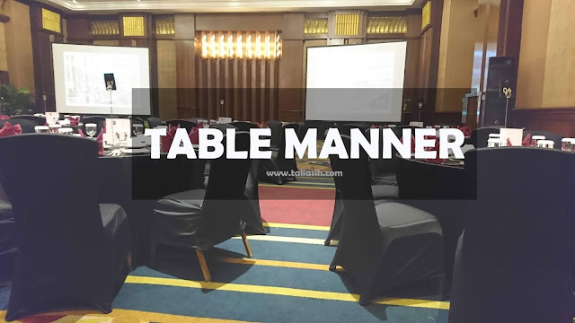 Table Manner Unikom di el Royale Hotel Bandung