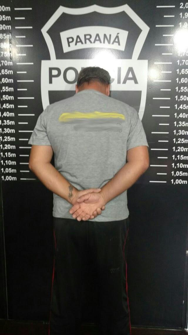 Cope prende em Colombo sequestrador foragido de São Paulo