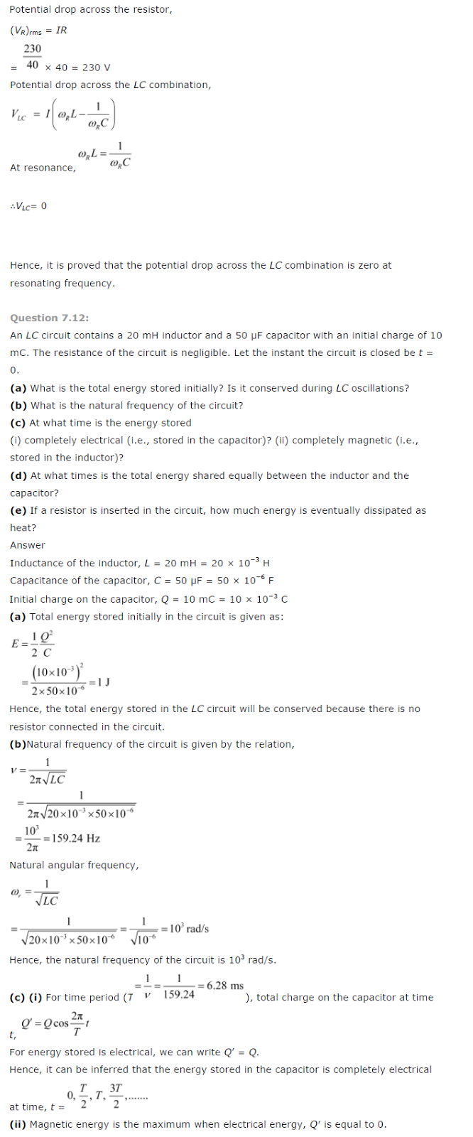 ncert solutions for class 9,10,11 and 12 : ncert solution