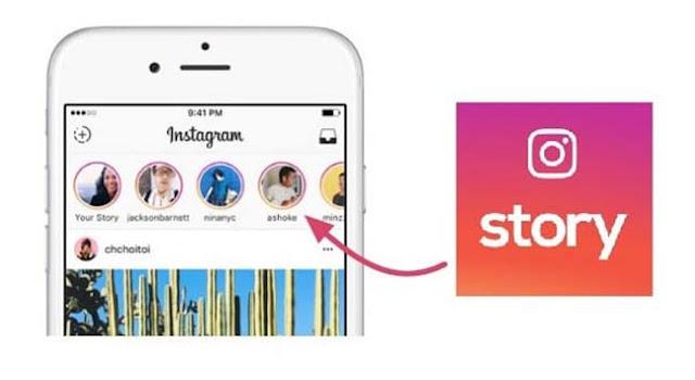 cara repost ulang story orang lain di instagram