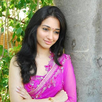 Fair and lovely Tamanna photos in pink saree