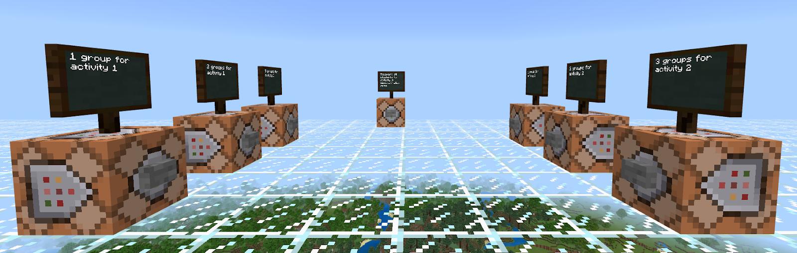 Minecraft EduElfie A Lesson Breakdown - Minecraft teleport player to location