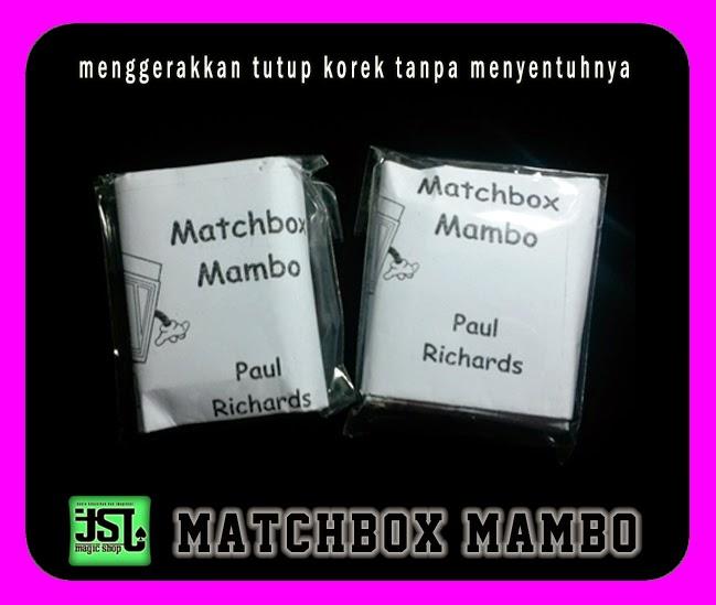 TOKO SULAP JOGJA MATCHBOX MAMBO MAGIC
