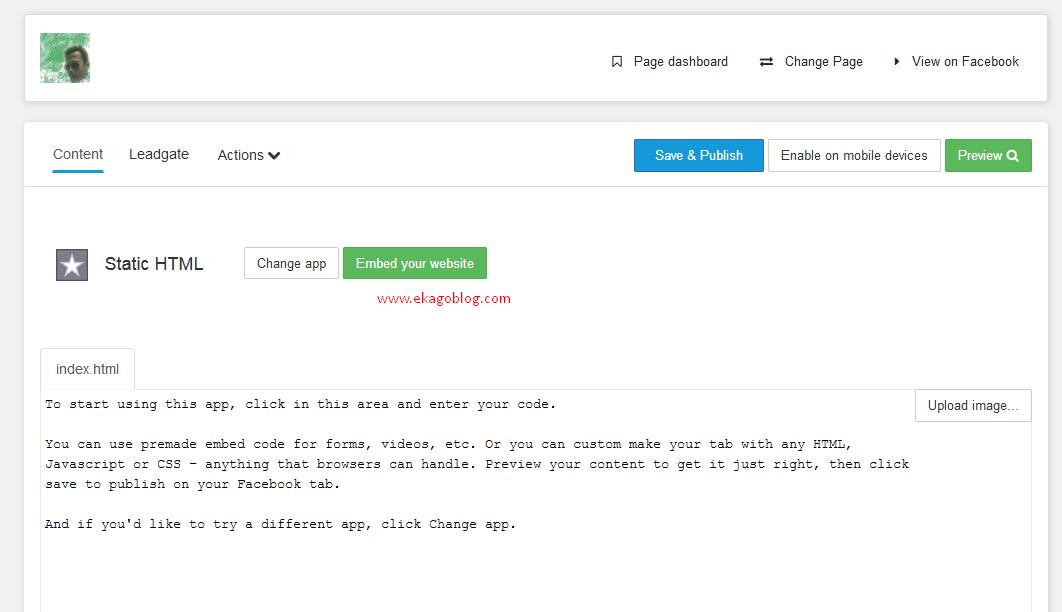 Langkah Mudah Menambahkan Tab Static FBML pada FansPage facebook Anda