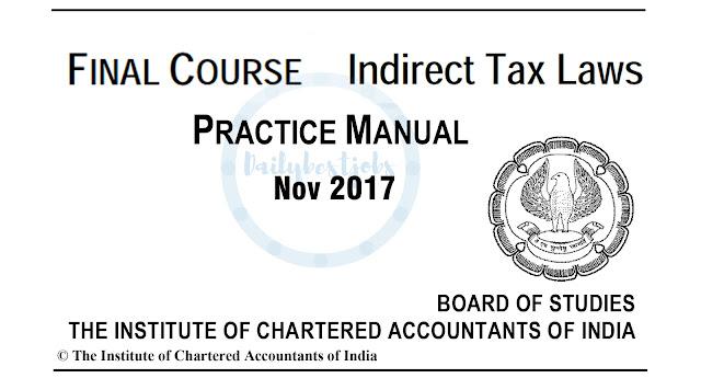 CA Final IDT Practice Manual