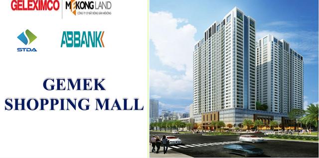 Gemek Tower ra mắt sàn thương mại Gemek Shopping Mall hấp dẫn