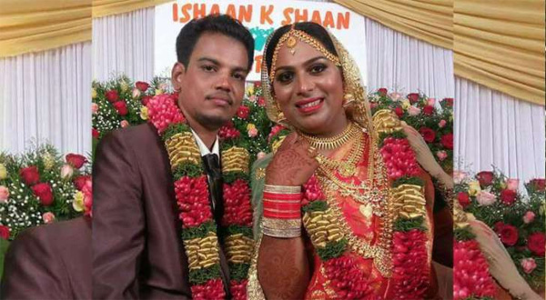 Kerala, News, Thiruvananthapuram, Marriage, Transgender, First transgender Marriage in Kerala.